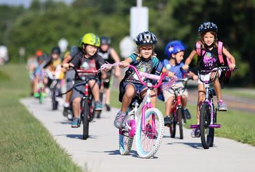 Открытие вело-кружка для детей...